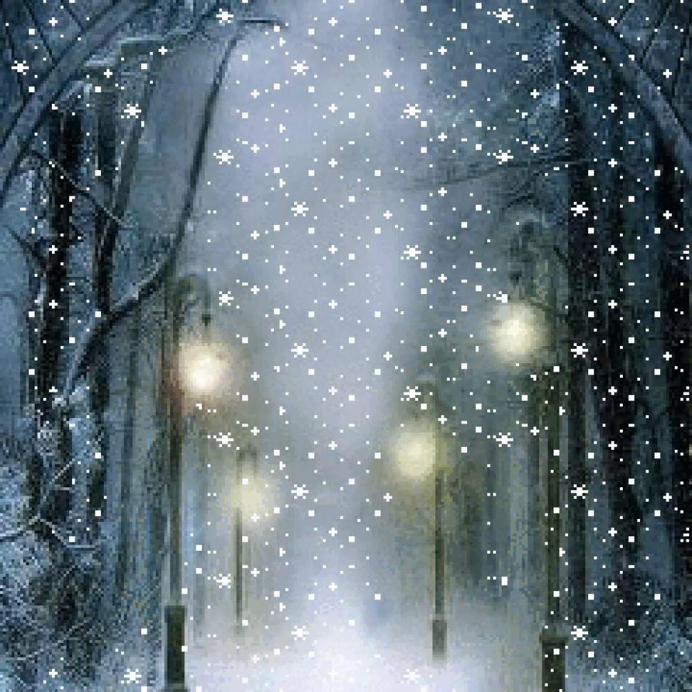 мерцающие картинки снегопад синьхуа сообщает