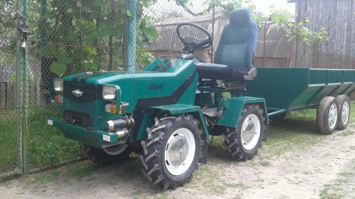 картинки самодельных тракторов