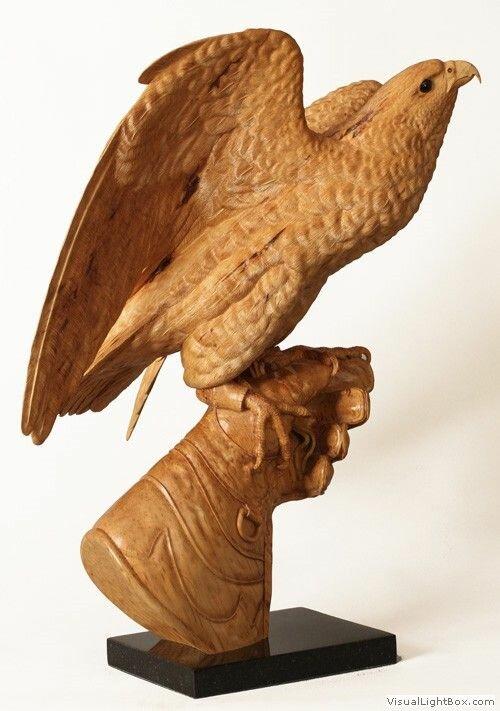 изделия резной орел из дерева картинки мастера