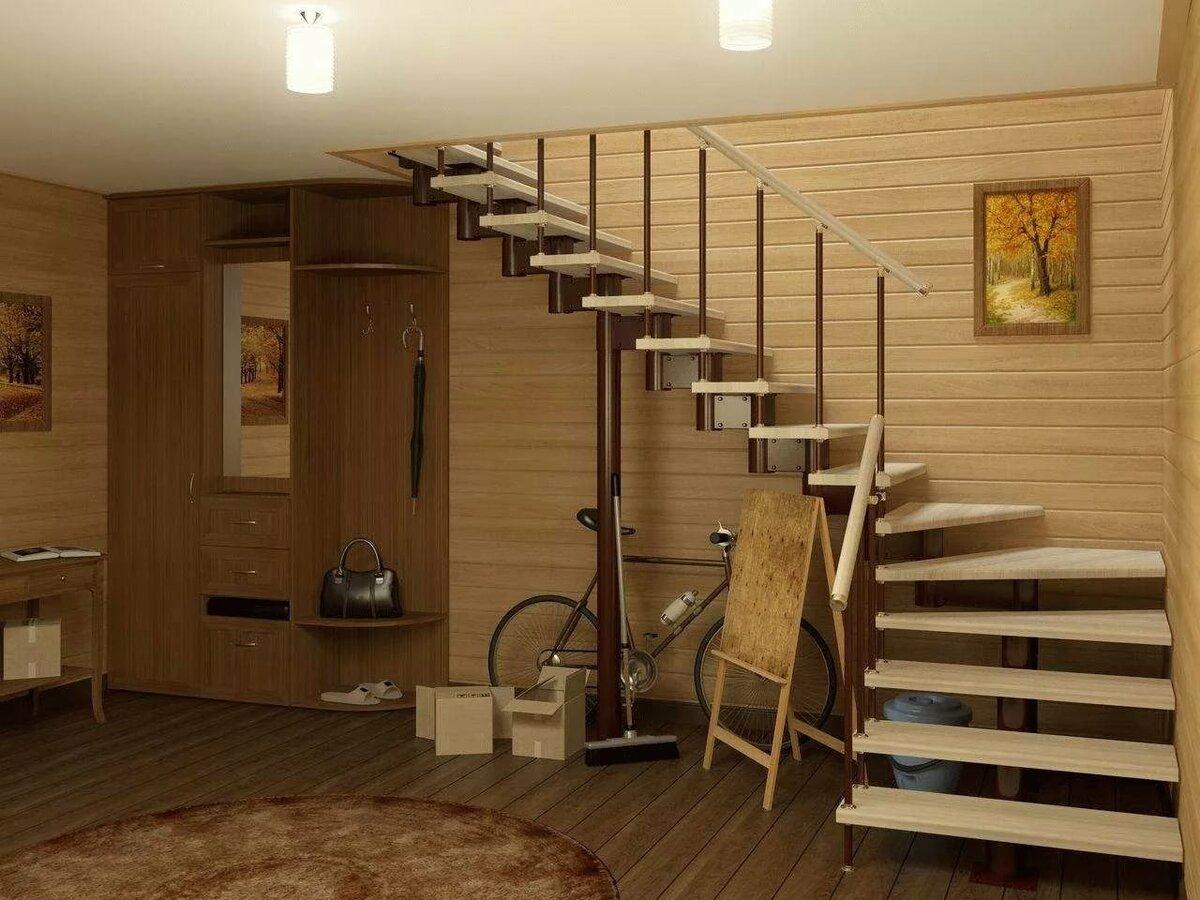 фото лестниц на второй этаж в частном доме макарошек