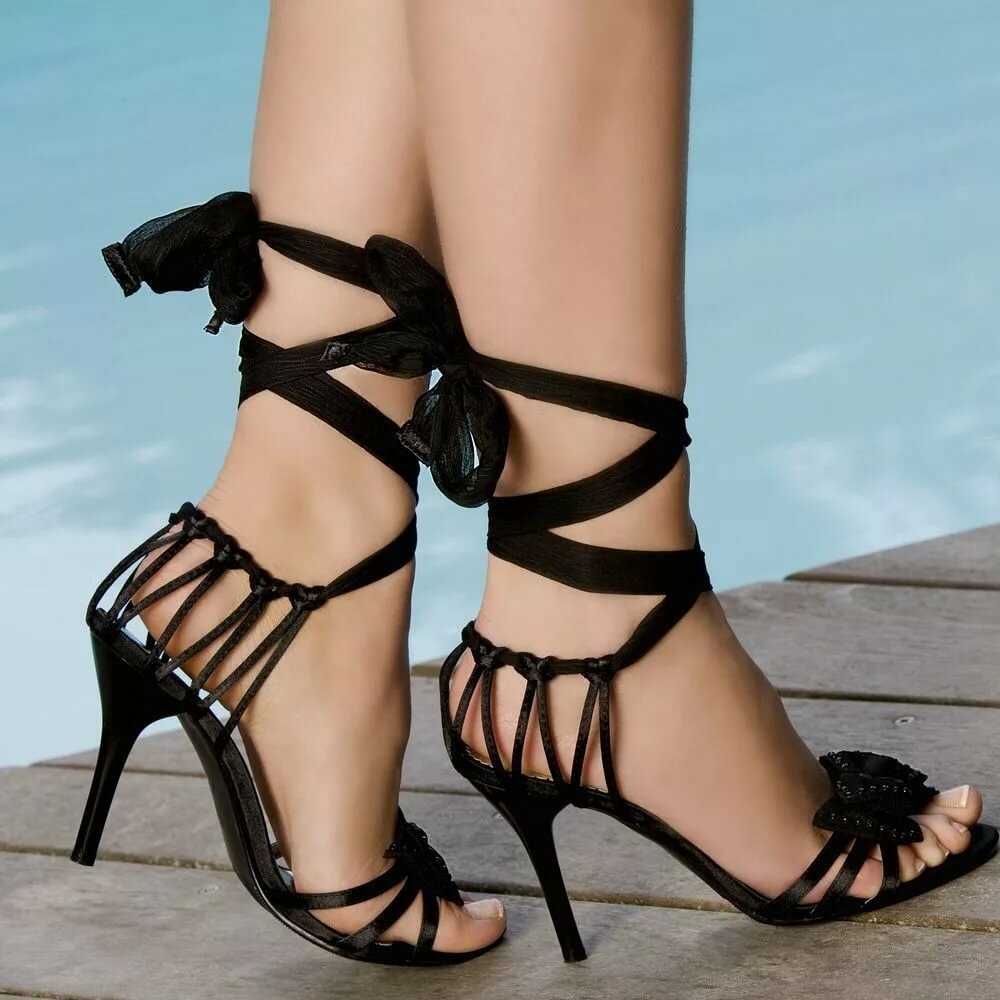 Sexy shoes strappy
