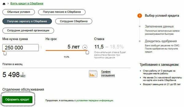 Калькулятор онлайн по кредиту сбербанк как можно получить страховку после погашения кредита