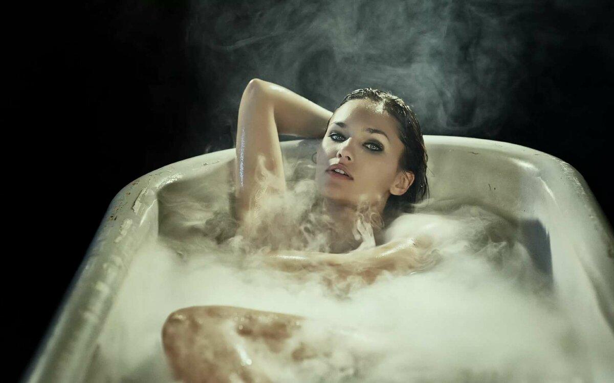 Девушки на ванне #10
