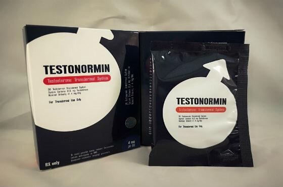 Testonormin - тестостероновые пластыри в Сыктывкаре