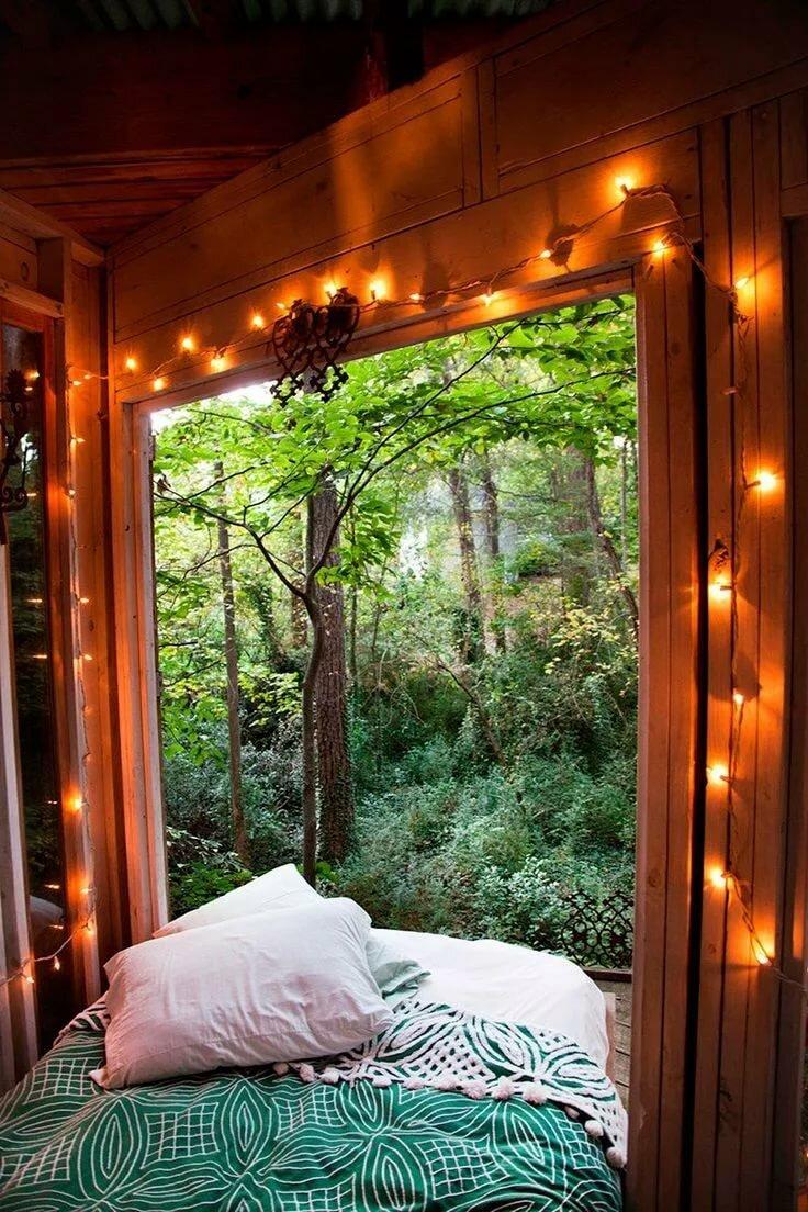картинка кровать в лесу лучших смартфонов
