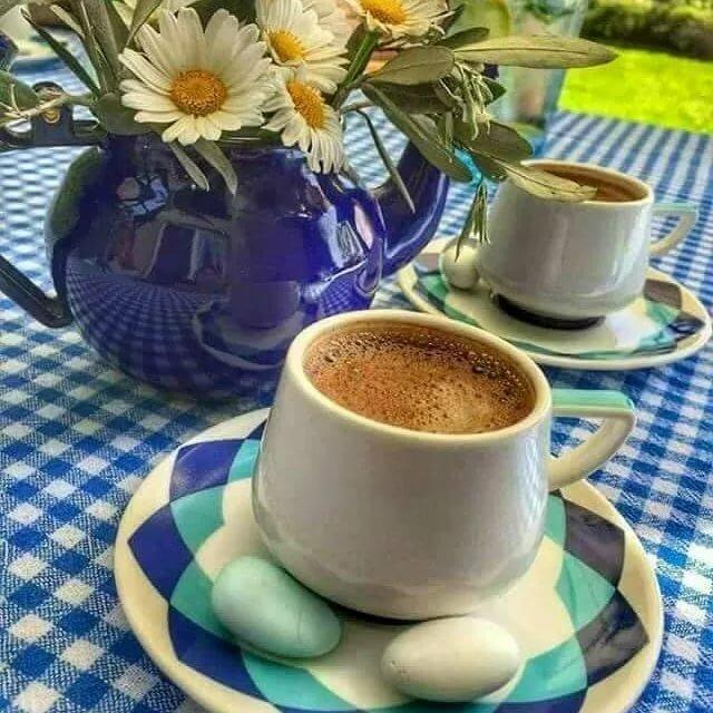 Гифка, открытки чашка кофе на утро