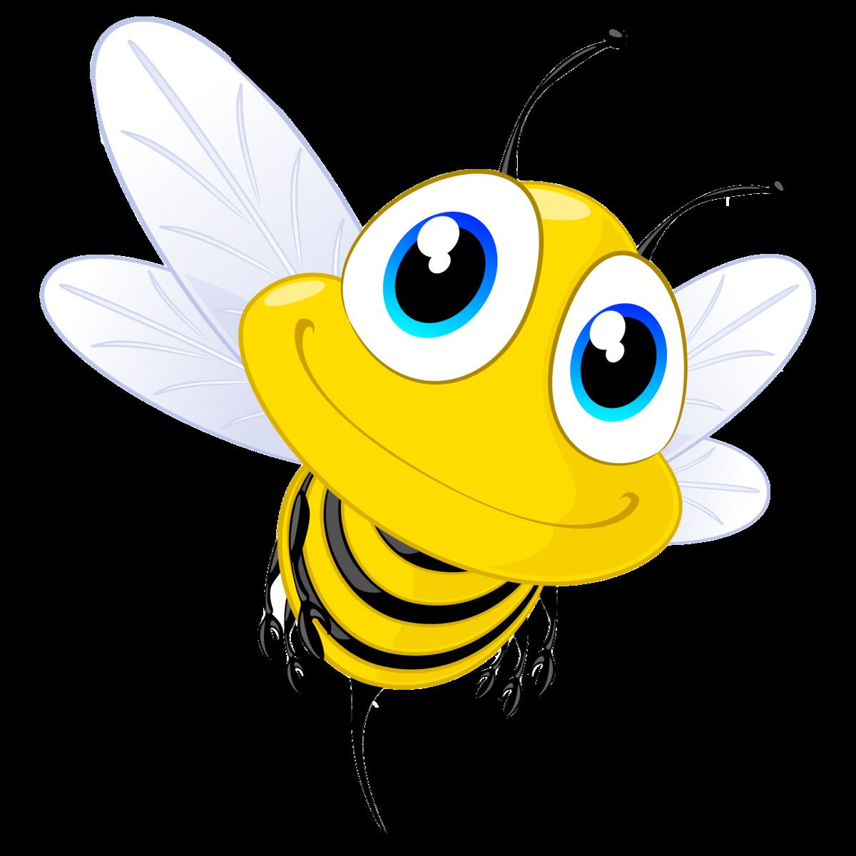 Картинки пчел мультяшных