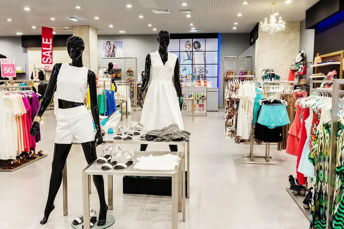 Большие магазины одежды картинки