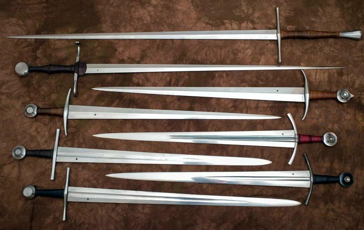 род деятельности мечи средневековья фото без