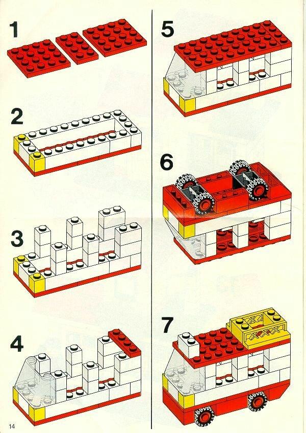 Поделки из лего инструкции картинки