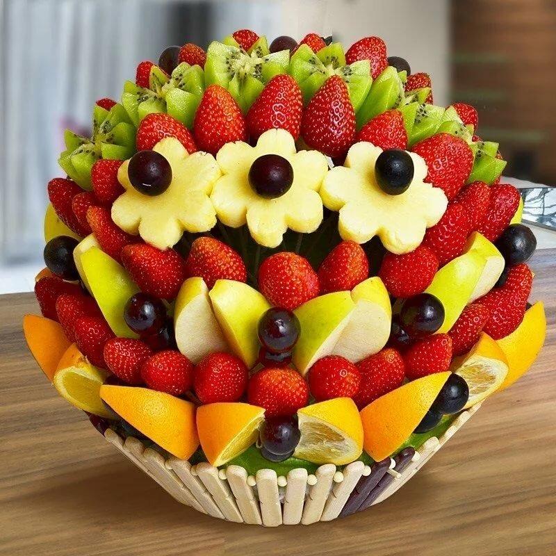картинки торт фруктами том