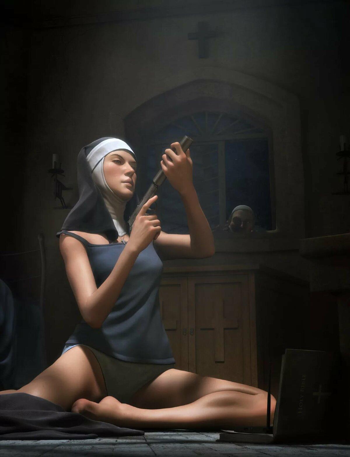 Sexy nuns fantasy girls, oksana dharcourt porn movies