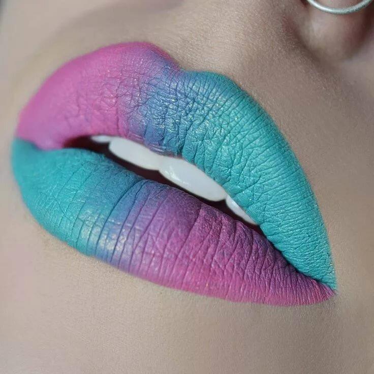 Картинки макияж для губ обеду