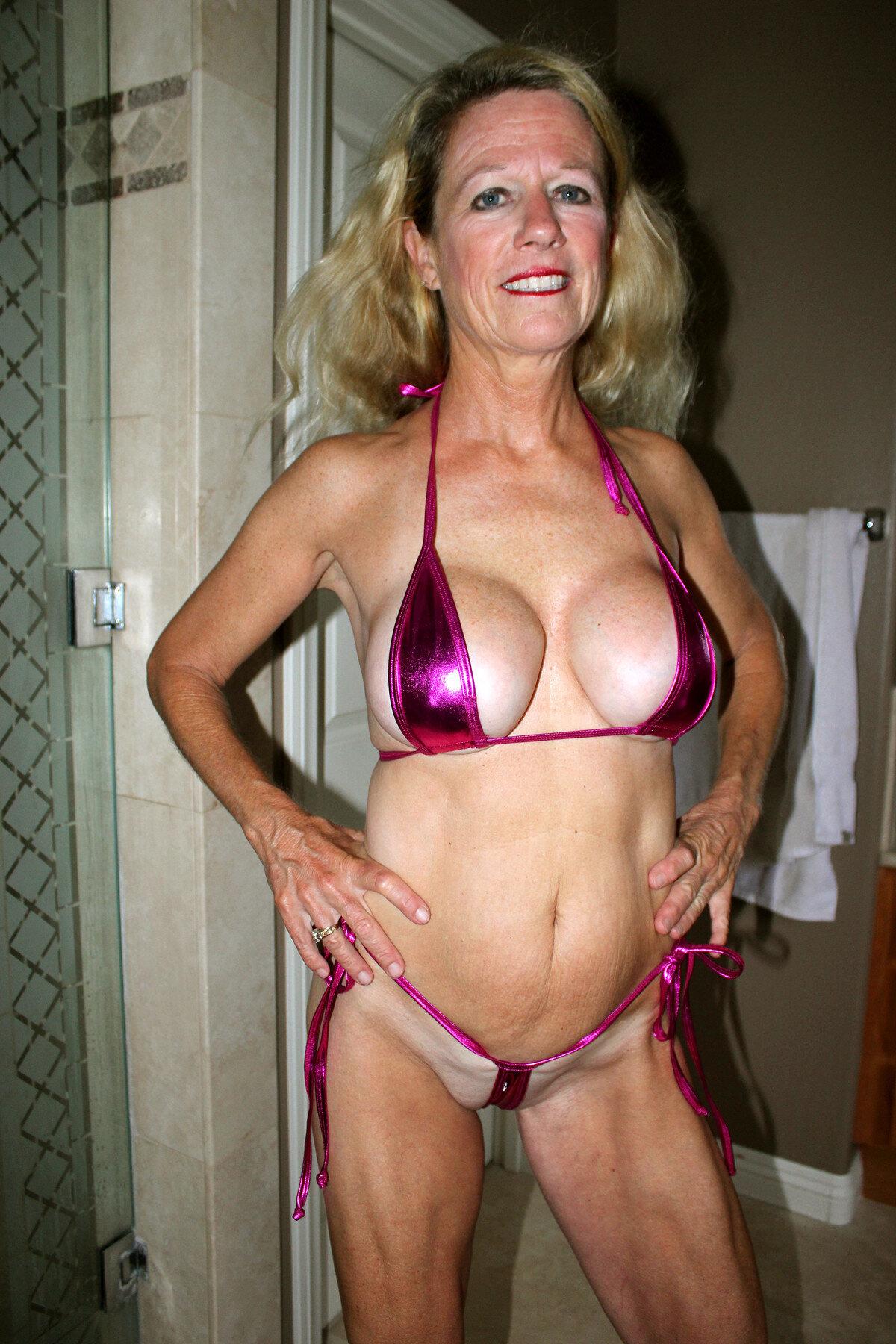 Sexy Mature Women In Bikinis