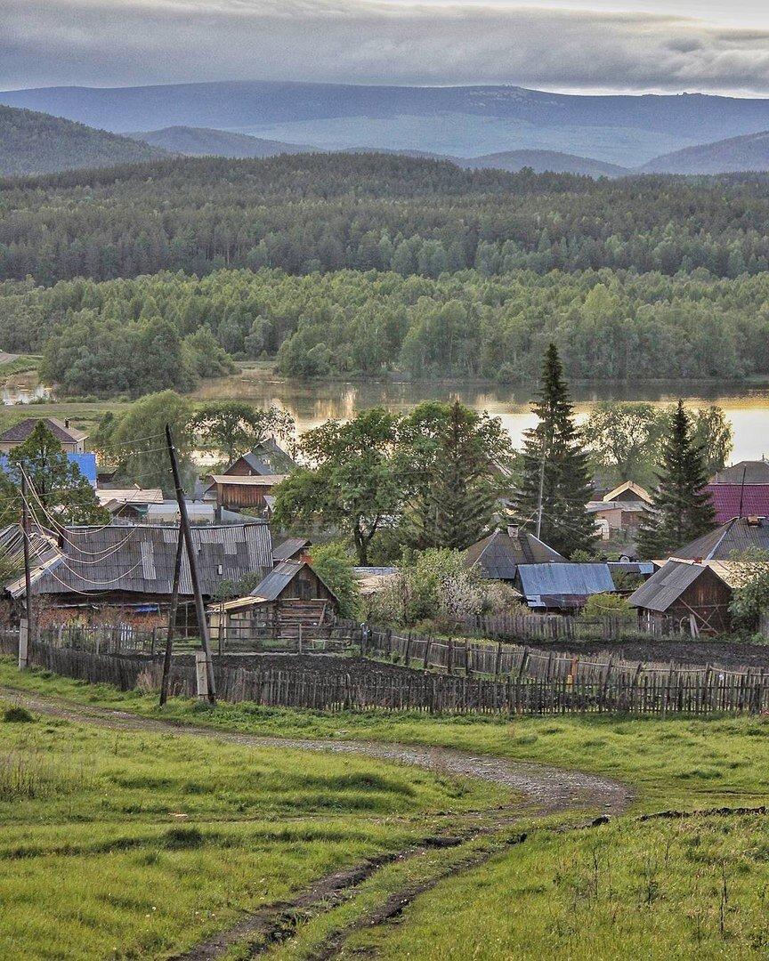 фото уральских деревень каждой травы