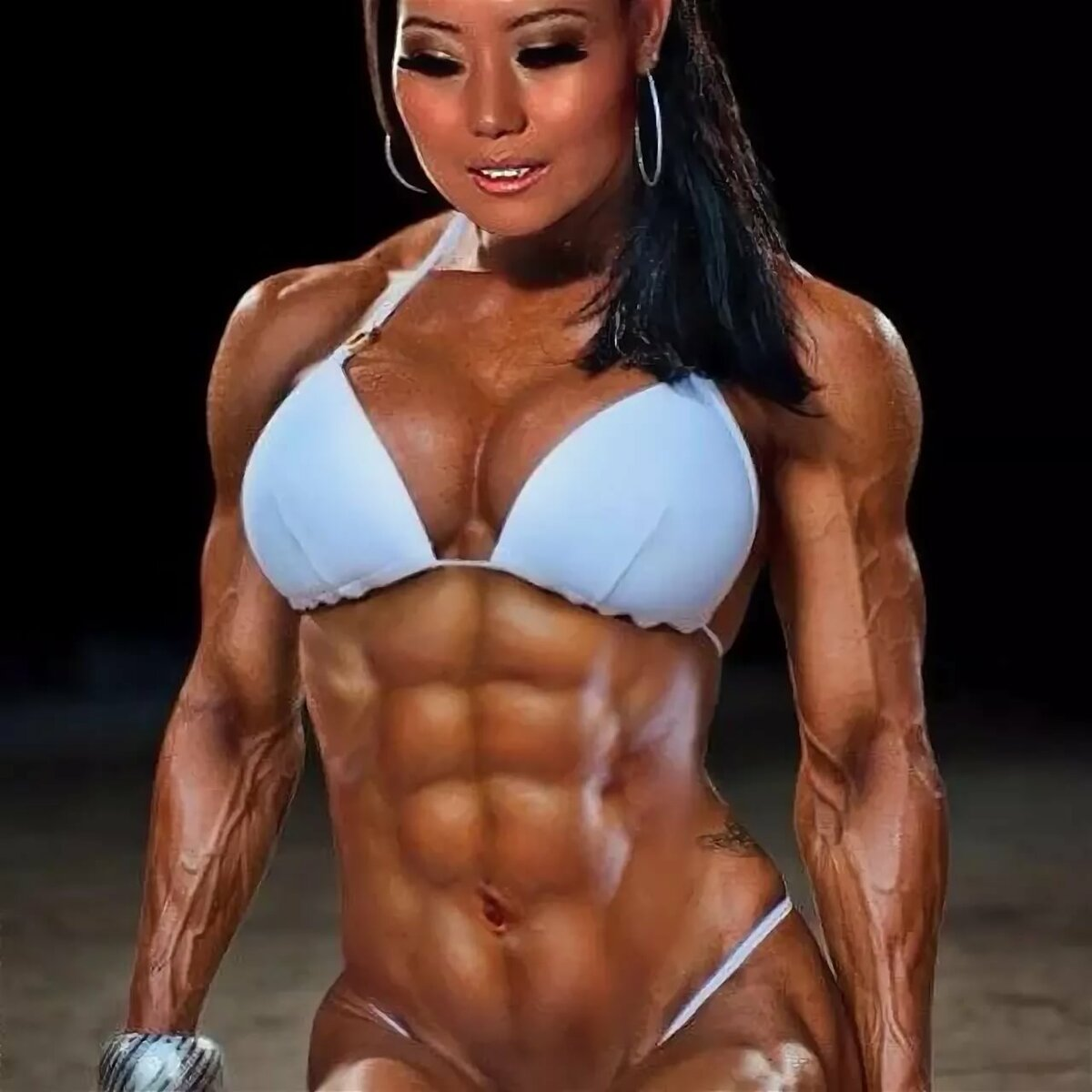 Woman with great body fucks porno