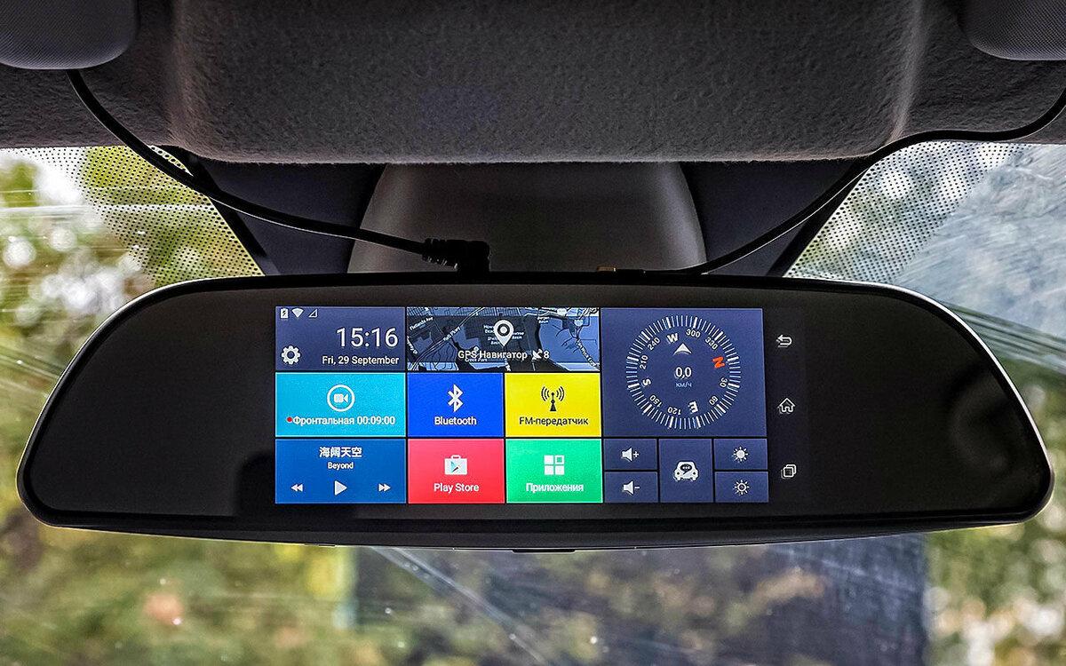Зеркало-видеорегистратор Car DVRs Mirror в Талдыкоргане