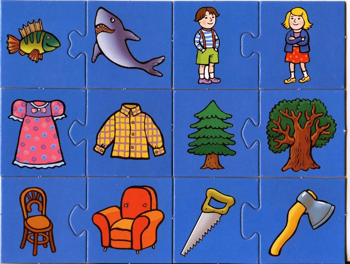 Ассоциации картинки детские