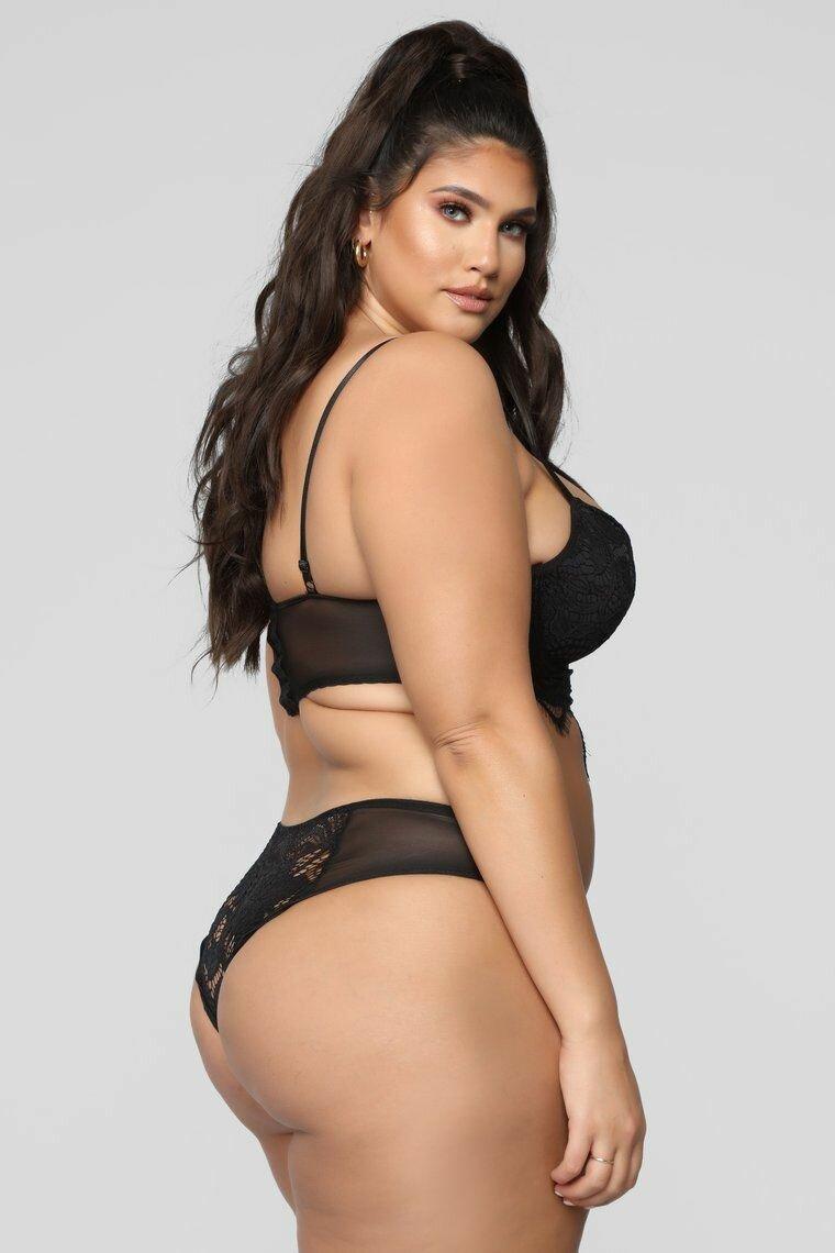 Bikini plus size thong