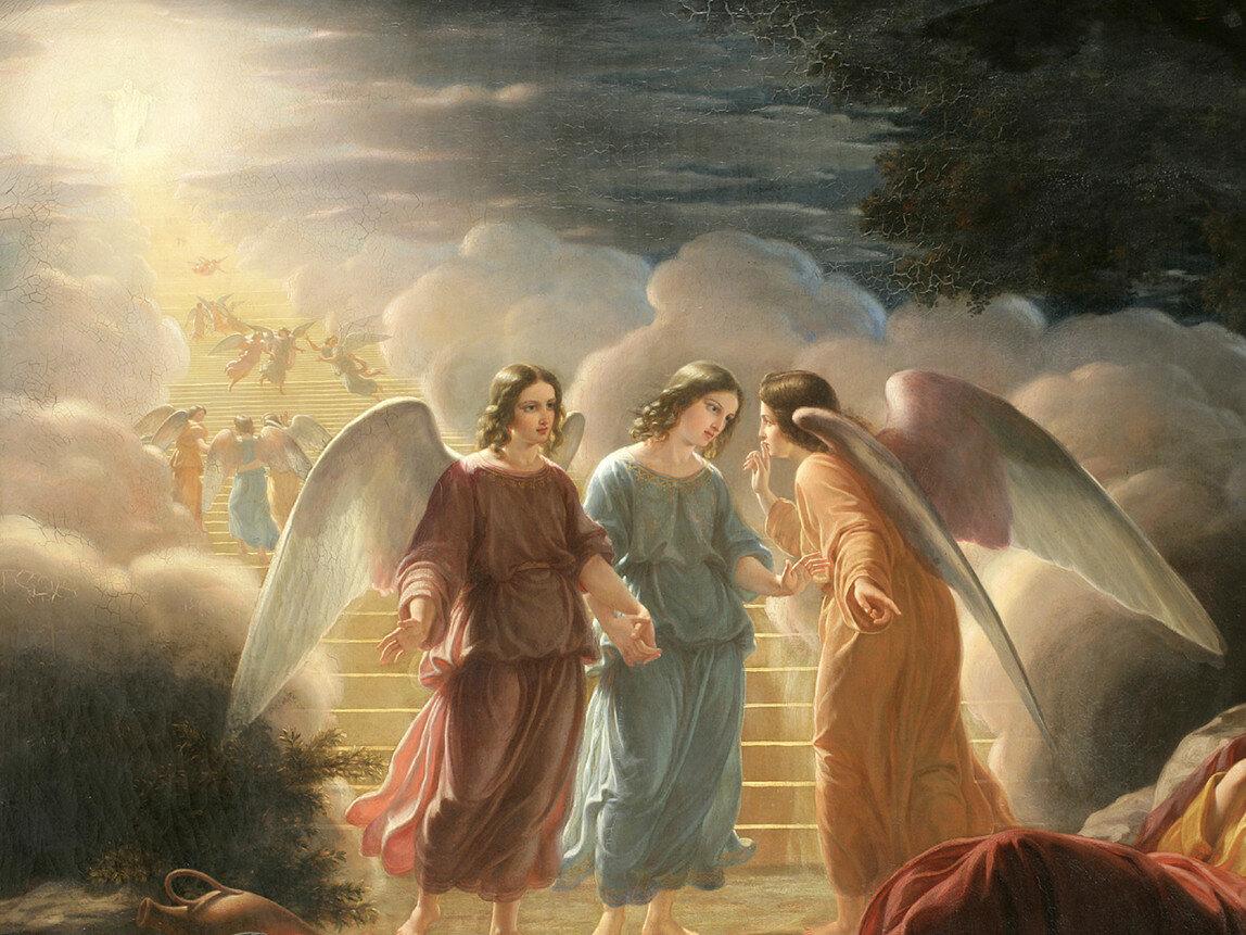 Библия ангел картинки