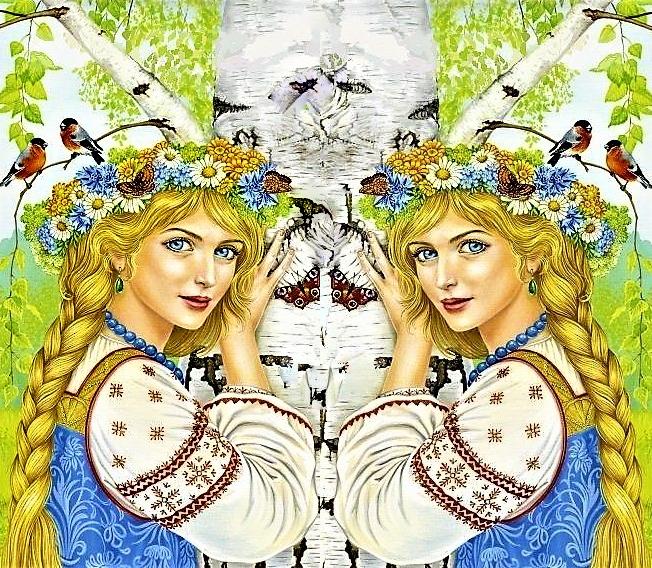 открытки славяне вперед идее