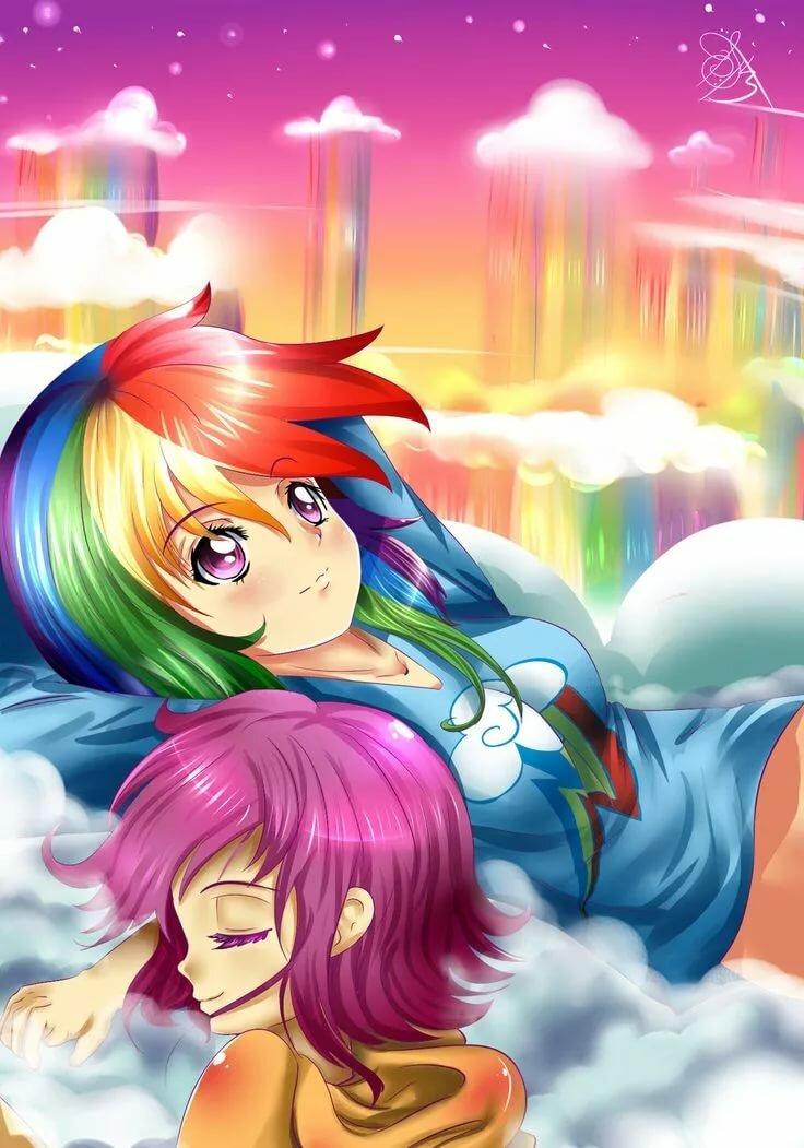 Картинки пони анимэ