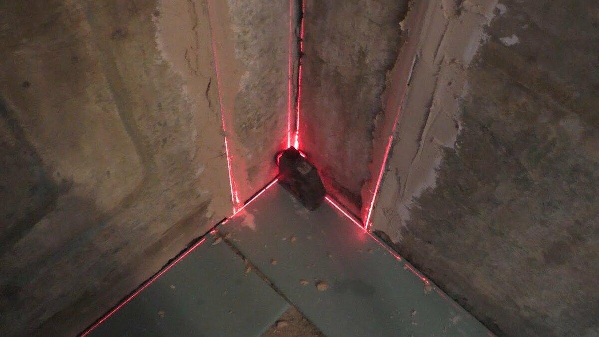лазерный уровень для выставления маяков