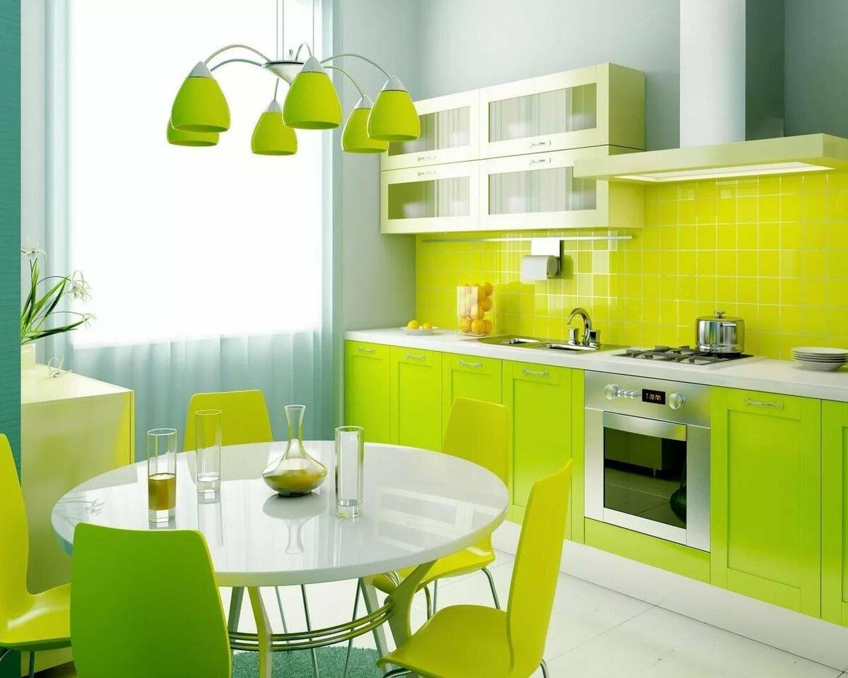 спальных кухня в салатовом цвете картинки города сегодня