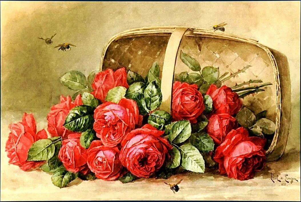 киями красивые картинки с цветами старинные удобства использования
