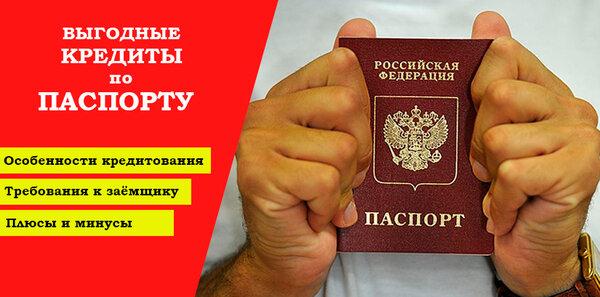 банки пермь кредит по паспорту