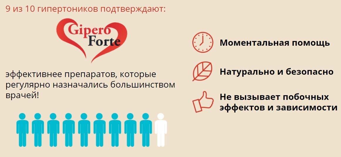 GiperoForte от гипертонии в Омске