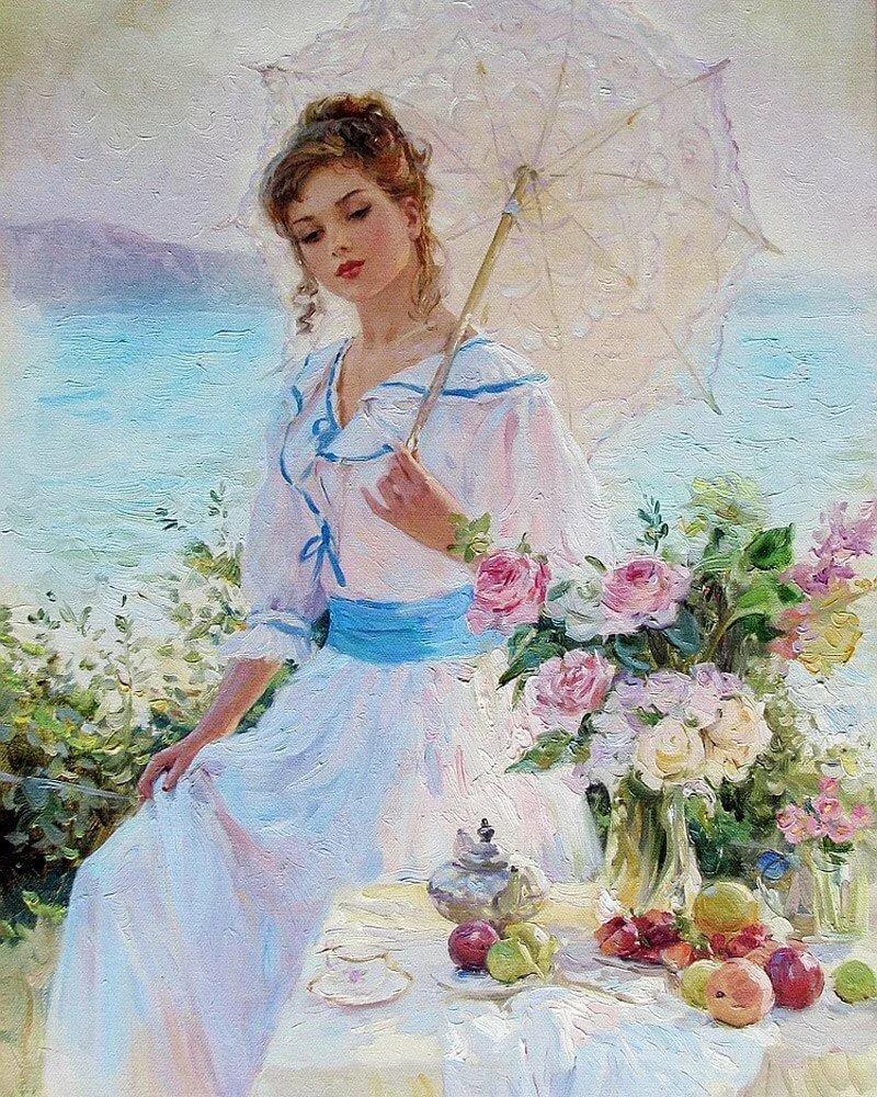 Картинки женщины художники