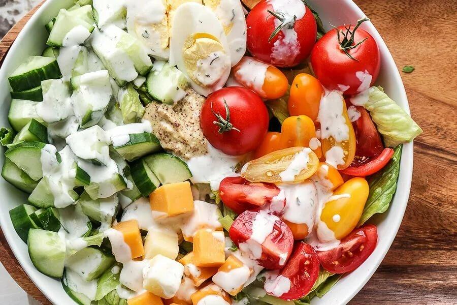 Рецепт салатов растительная диета