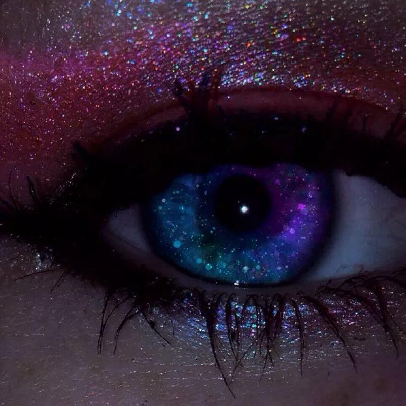 Лиловый глаз картинки