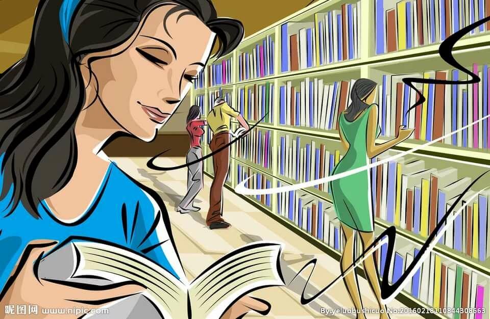 Библиотекарь в картинках, картинки днем
