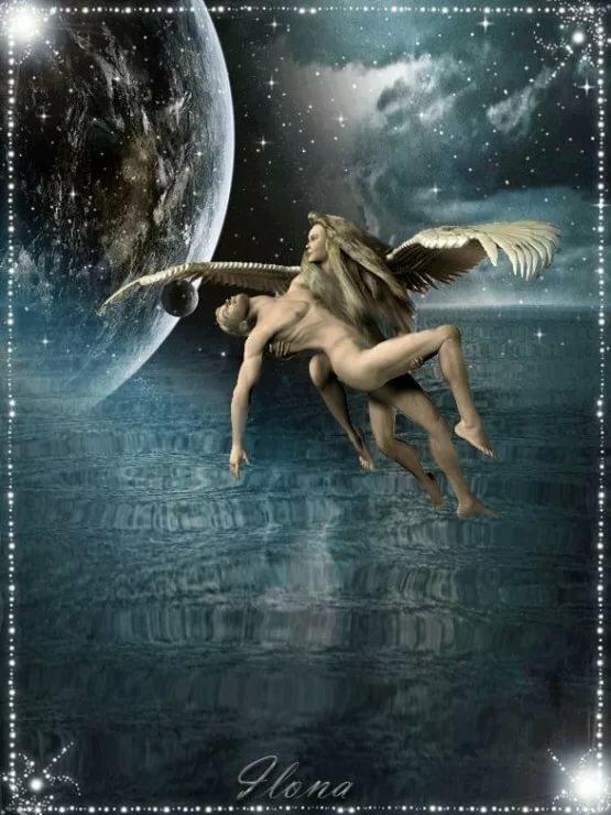 Летием для, гифы ангелы любви