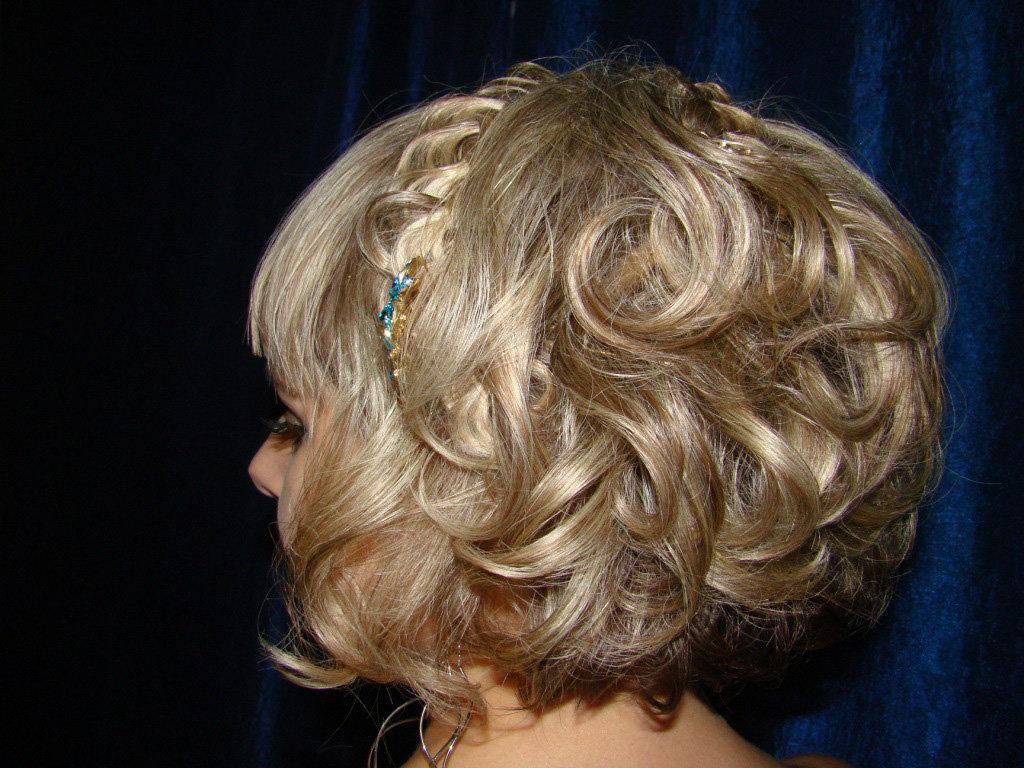 предупреждаем вечерние прически на короткие волосы фото женские дашко