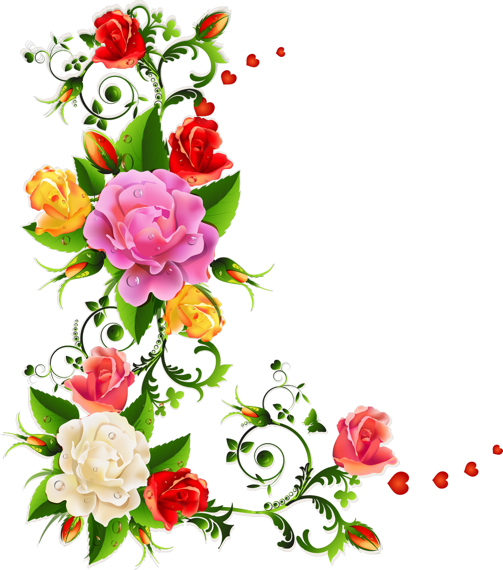 Утро картинки, узоры для открытки цветы