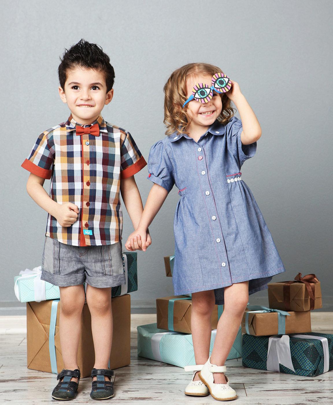 Картинка ребенка с одежды
