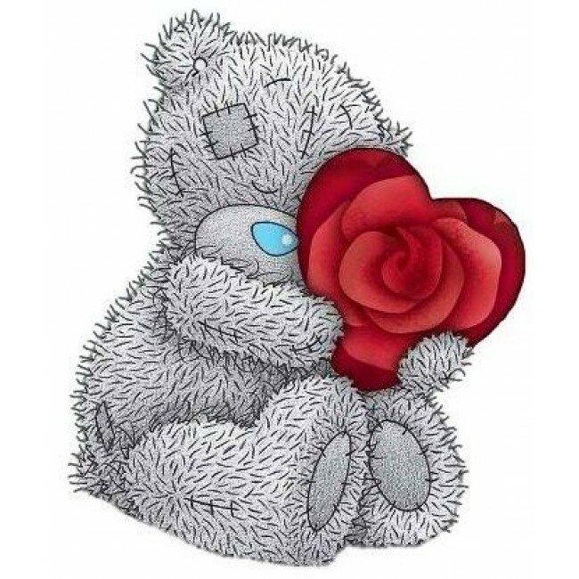 Медведи тедди с сердцем картинки