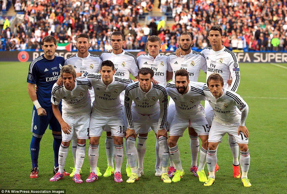 real madrid most valuable
