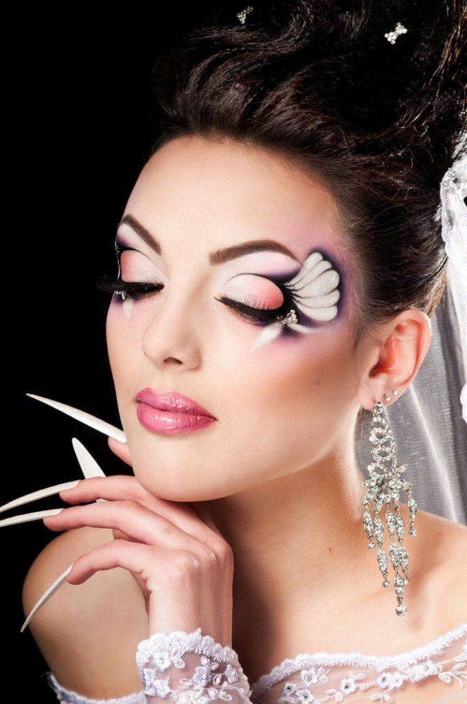 фантазийный макияж фото пошагово судак, жаренный