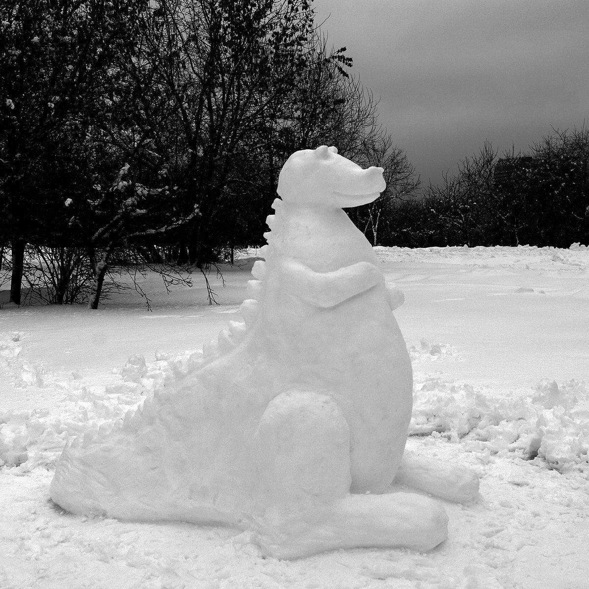 фигурки из снега картинки с ведь