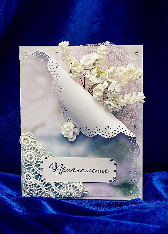 Приглашения на свадьбу скрапбукинг своими руками