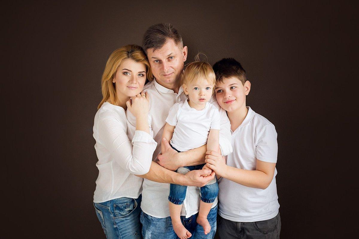 Белая семья картинки