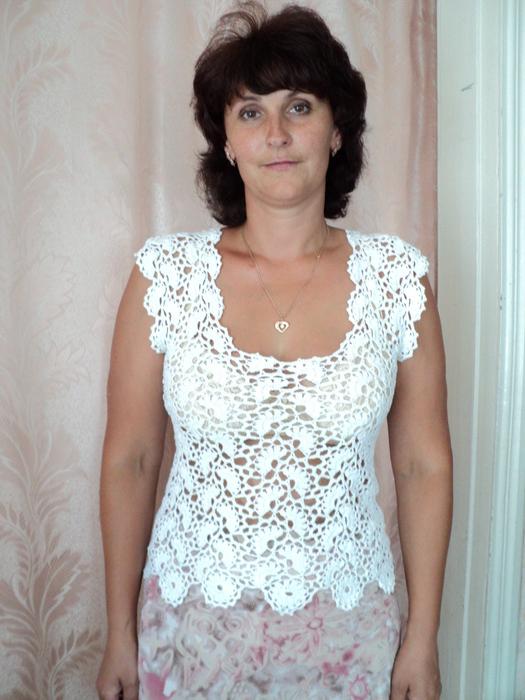 Летняя кофточка для женщин схема вязания 896
