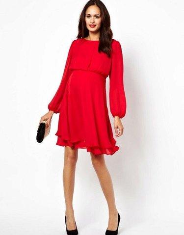 3e7ca3a1b43 32 карточки в коллекции «Женское красное платье с длинными рукавами»  пользователя mamylka57 в Яндекс.Коллекциях