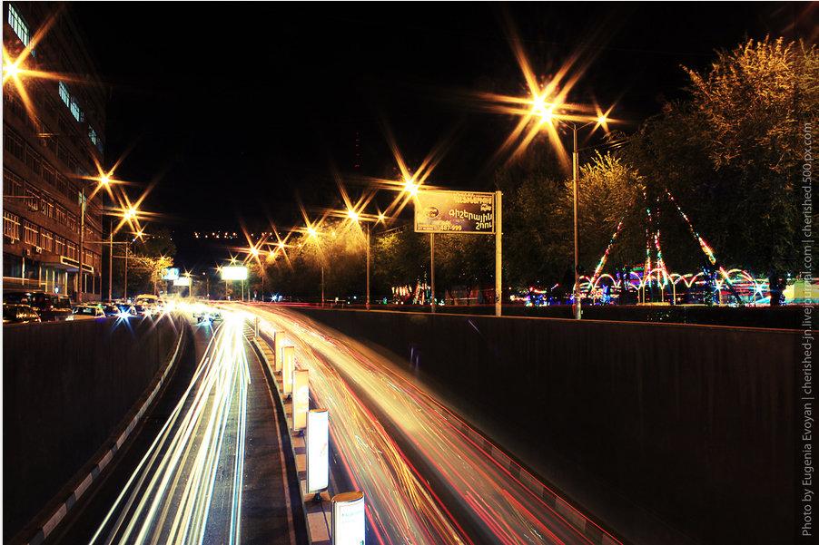 на каком режиме фотографировать ночные огни города подсчёт