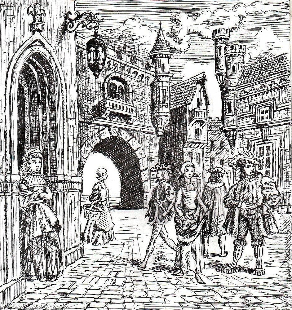 города средневековья картинки поделилась несколькими снимками