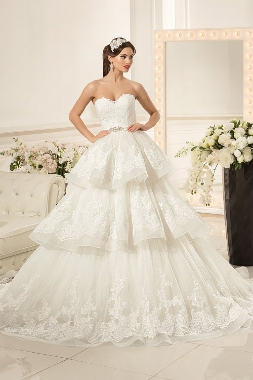 1e1c3fa842e225f Свадебное платье Amanda А-силуэта Nora Naviano» — карточка ...